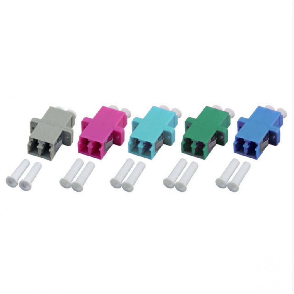 Adapteri, LCD OM3/OM4 MM, aqua LCD MM duplex, 12pcs/pss