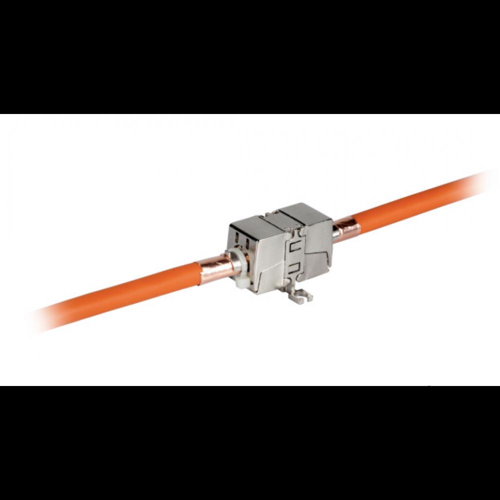 Liitin-Cat6a kaapelijatko Connection Module Cat.6A/Ea 10Gbit/s