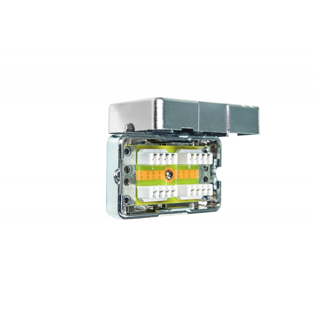 Liitin-Cat6, kaapelijatko Cable connector Cat6 LSA