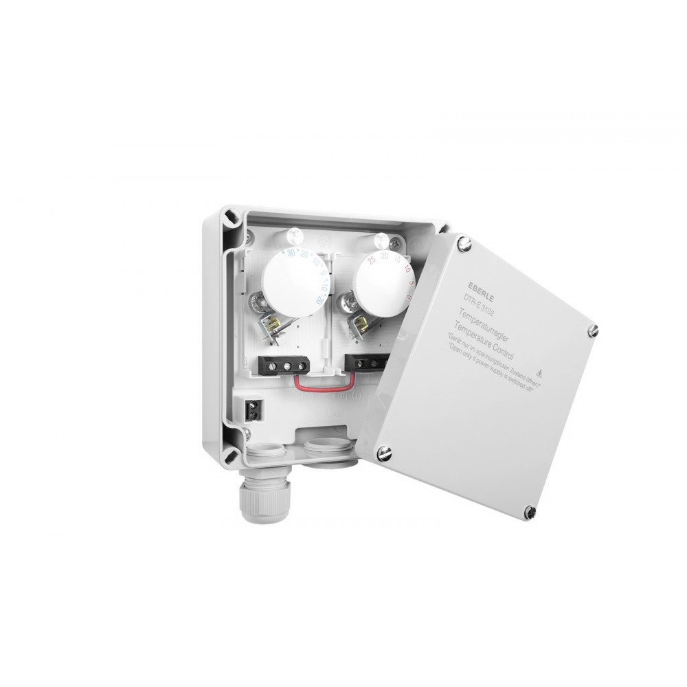 Kaksoistermostaatti DTR-E 3102 16A