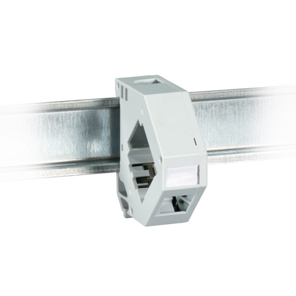 DIN-kisko adapteri Keystone Adapteri Keystone-liittimille