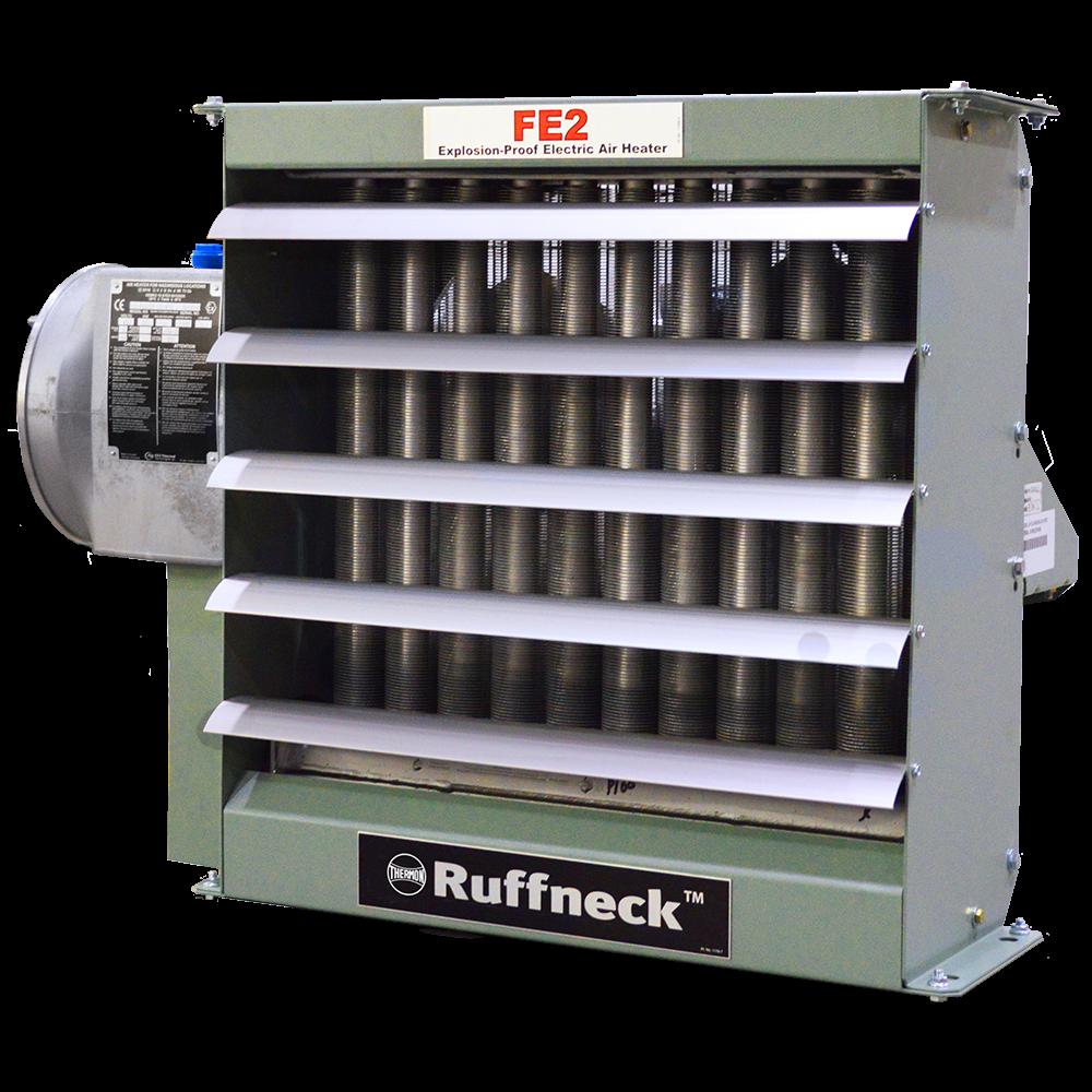 Ruffneck FE2 teollisuuslämmittimet ATEX
