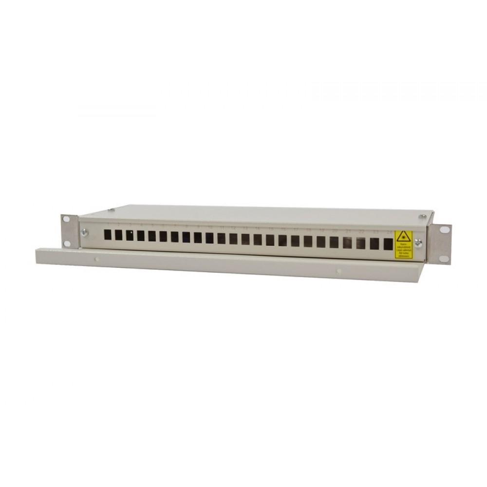 Paneeli-kuitu, 24xLC Duplex TS Kuitupaneeli 48xLC kiinteä törm.suo