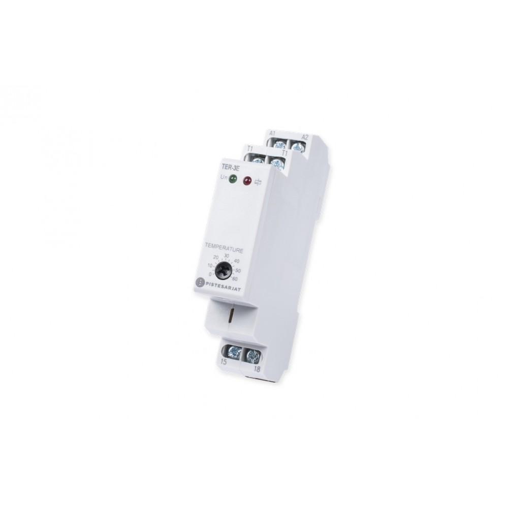 Lattiatermostaatti TER-3E DIN 16A 0-60ºC