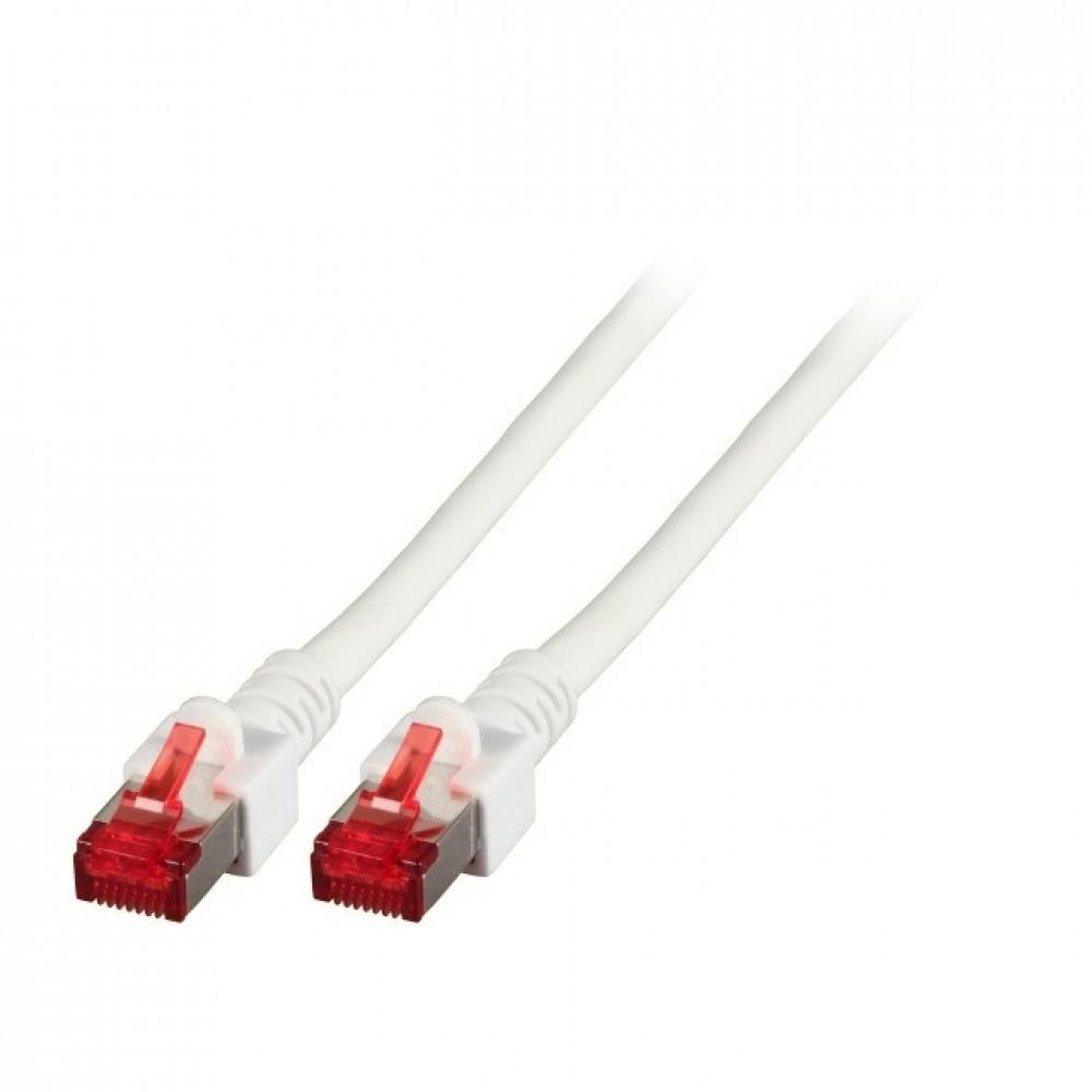 Kytkentäkaapeli Cat.6 Valkoinen (S/FTP) EFB