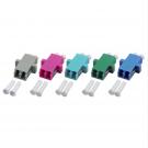 Adapteri MM LCD OM4 violet LCD MM, duplex, 12pcs/pss