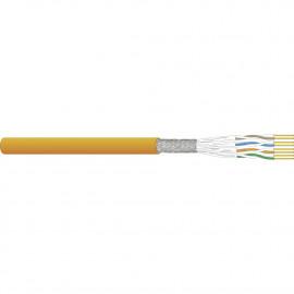 Tietoverkkokaapeli-Cat7 CU7080 Cca Cat.7 S/FTP FRNC/LSOH 4Px0,57 Cca