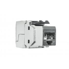 Liitin-Cat6a RJ45 STP Keystone Cat.6a STP,työkaluton EFB (200/ltk)