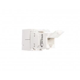 Liitin-CAT6a RJ45 UTP Keystone, työkaluton INFRALAN® RJ45 Keystone UTP, Cat.6a