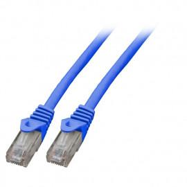 Kytkentäkaapeli Cat.6 Sininen (UTP) EFB