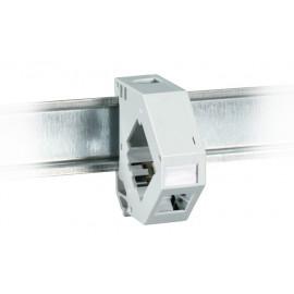 Kytkentäkotelo, runko DIN-kisko Adapterirunko Keystone-liittimille