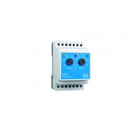 Kaksoistermostaatti ETR/F-1447A DIN-kisko16A