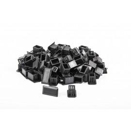 Pölysuoja SC / LCD aukkoon, 100pcs Dust cover E2000 ,SC, LCD, black