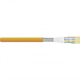 Tietoverkkokaapeli-Cat7a CU7702 Out Cca Cat.7a S/FTP 4Px0,62 Ulkoas. Cca