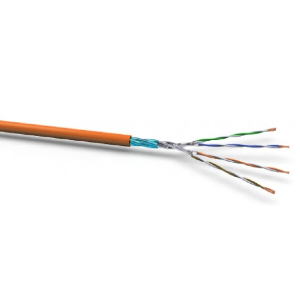 Tietoverkkokaapeli-Cat6a X-lan500 Cat.6a U/FTP FRNC/LSOH Dca