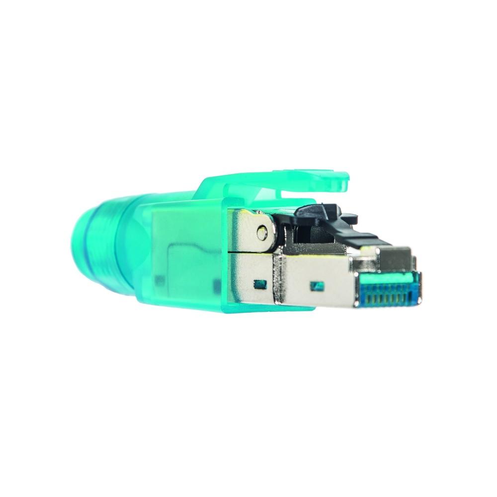 Liitin-Cat6a RJ45, urosliitin Cat.6a RJ45 field plug työkaluton
