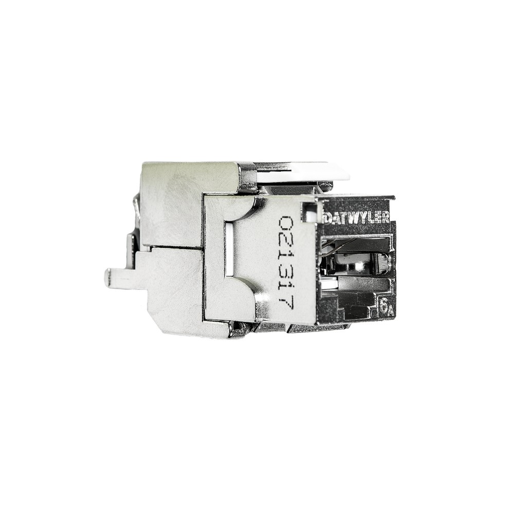 Liitin-CAT6a RJ45 STP Keystone KS-T Cat.6a/Ea STP työkaluton