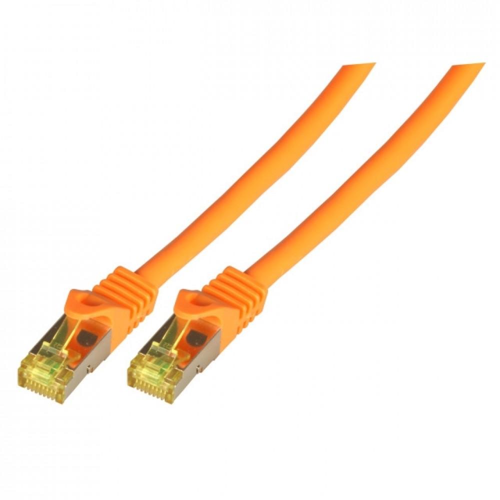 Kytkentäkaapeli Cat.6A Oranssi (S/FTP) EFB-MK