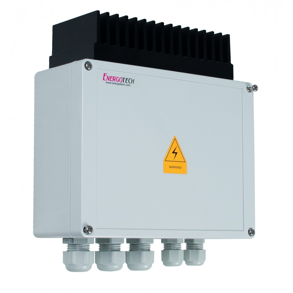 Finnstrip DM65, 6500W/230V IP54 0-100% Langaton tehonsäädin 195x200x75