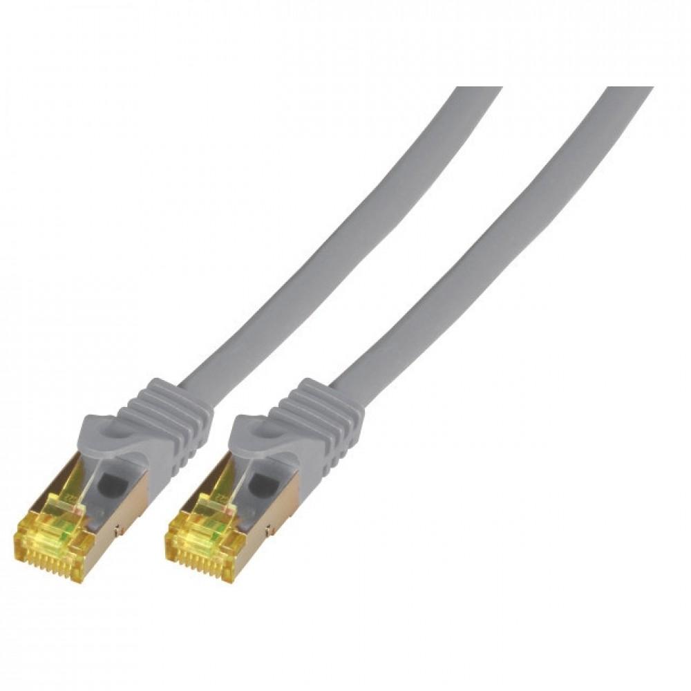Kytkentäkaapeli Cat.6A Harmaa (S/FTP) EFB-MK