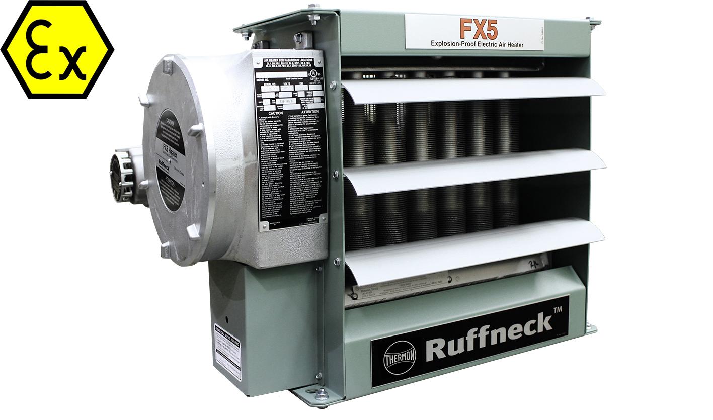 FX5 teollisuuden lämmityspuhallin